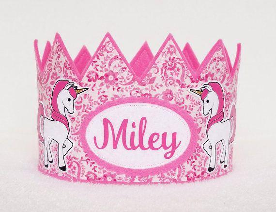 Unicorn Crown, Unicorn Birthday Crown, Unicorn, Unicorns, Unicorn