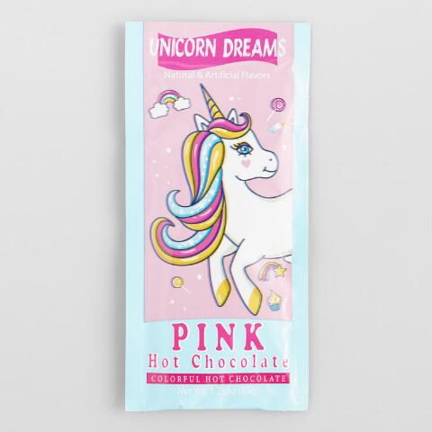 Unicorn Dream Pink Hot Chocolate Mix Packet