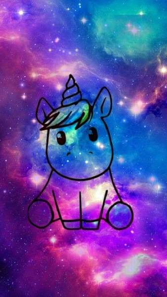 Unicorn Galaxy Wallpaper By Kittyh742