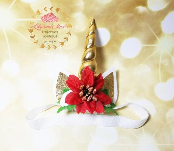Unicorn Headband Christmas Unicorn Headband Unicorn