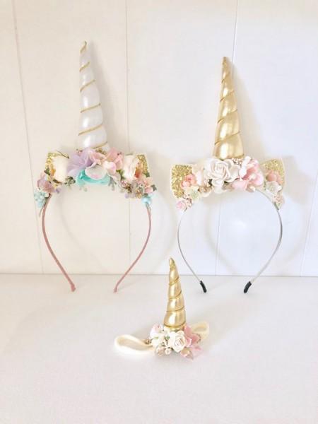 Unicorn Headband Unicorn Crown Unicorn Birthday Party Baby