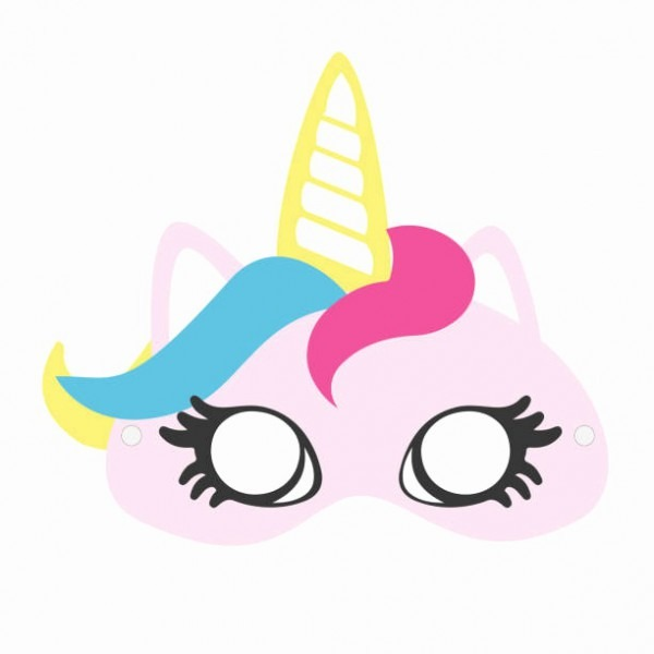 Unicorn Mask Clipart