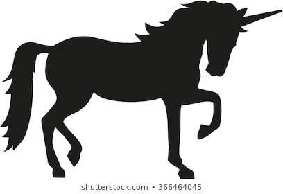 Unicorn Silhouette Images, Stock Photos & Vectors