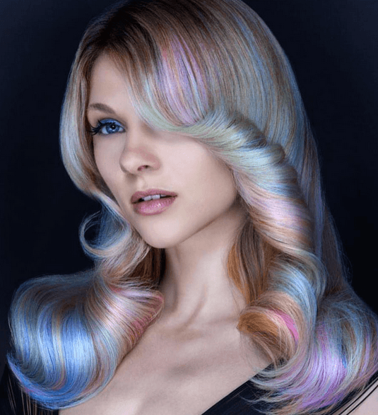Want Subtle Unicorn Hair  Opal Hair Is The Trend For You!