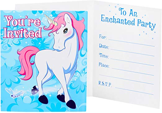 Amazon Com  Birthday Express Enchanted Unicorn Party Supplies
