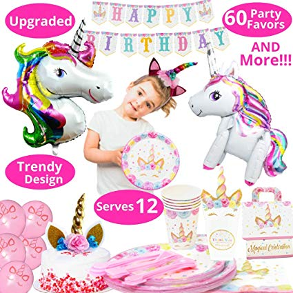Amazon Com  Unicorn Party Supplies