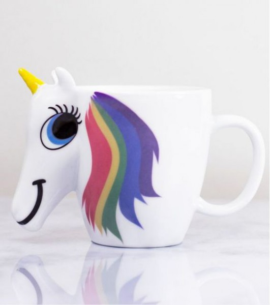 Thermoreactive Unicorn Mug